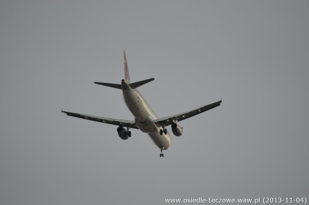 Airbus A321 linii Quatar Airways. Nam jednak katar niestraszny!