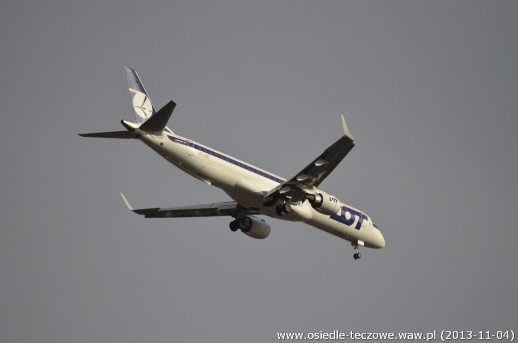 Embraer E195 LOTu, prod. 2011 (funkiel nówka!)