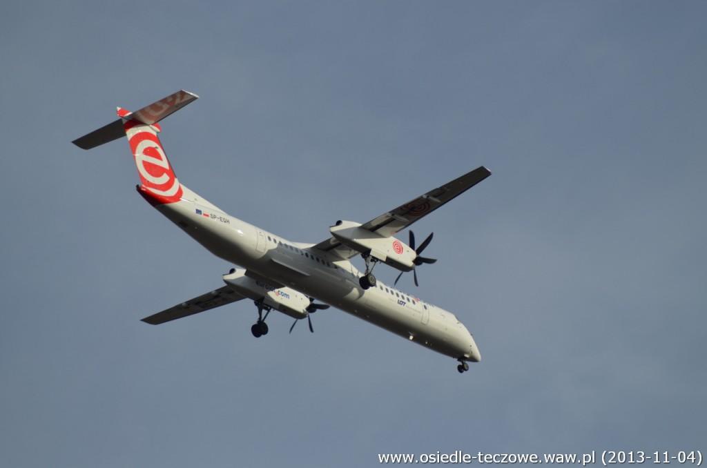 Zeszłoroczny Bombardier Q400 - Eurolot